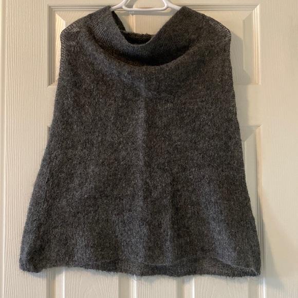 Aritzia Wilfred Wool Blend Poncho